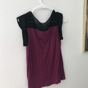 Heart shape top with sleeves